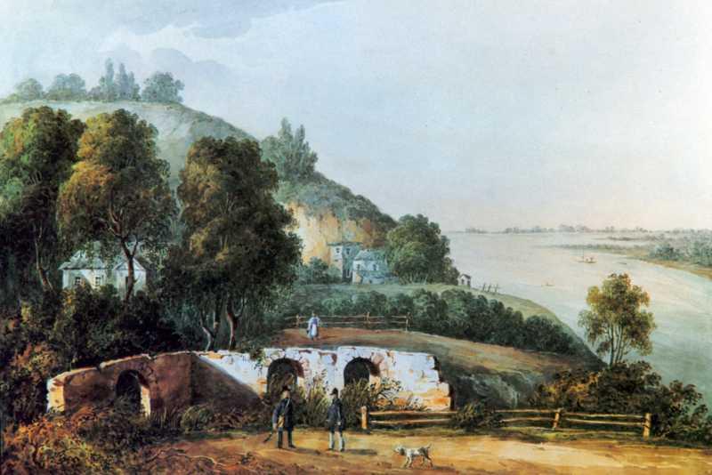 1843 р. Руїни