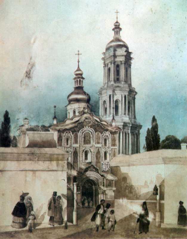 1840-і рр. Загальний вигляд із заходу
