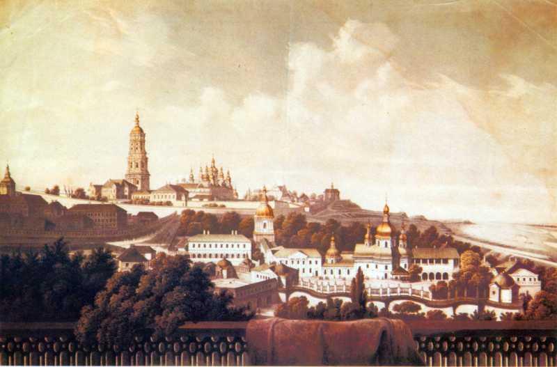 1850-і рр. Загальний вигляд з півдня