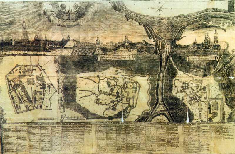 1821 р. Загальний вигляд і плани
