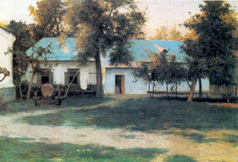 Кін. 19 ст. Будинок біля стіни Софійського собору