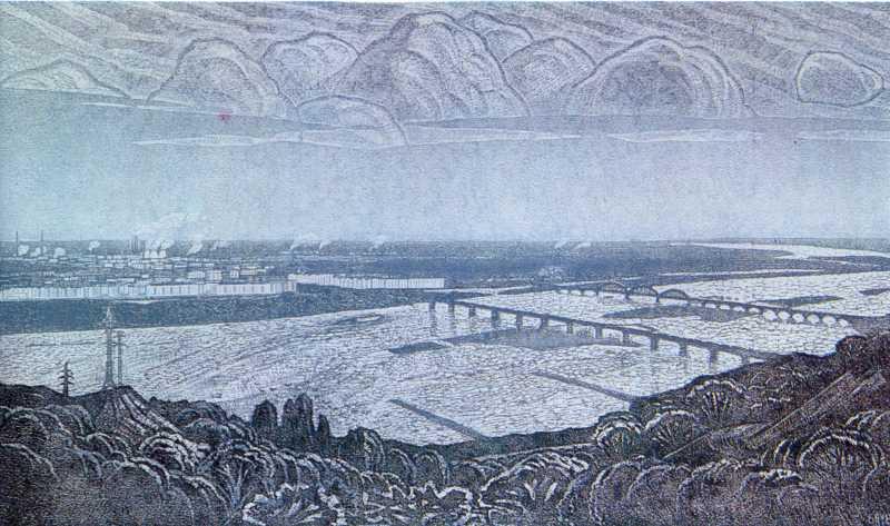 Польовий Г.П. Срібний Дніпро