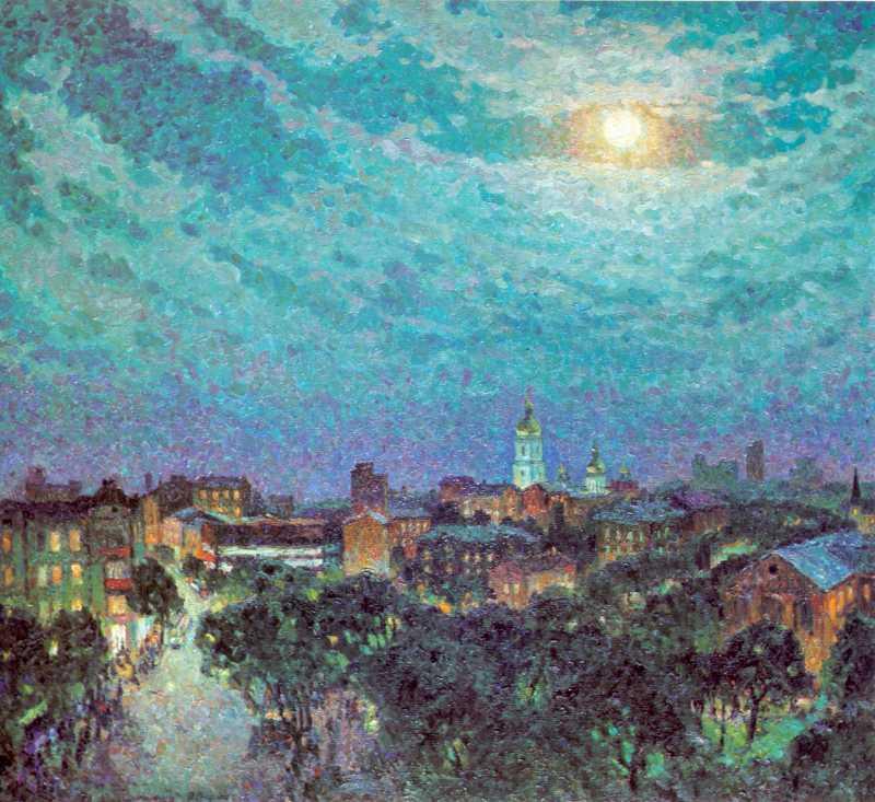 Романишин М.М. Місячна ніч