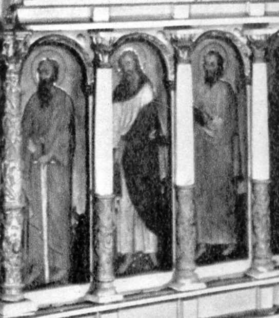 Апостоли. Права група