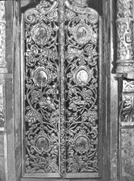Царські врата іконостасу