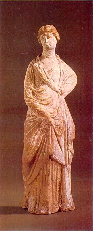 Статуетка жінки