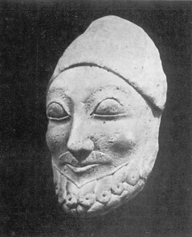 Скульптурний портрет чоловіка
