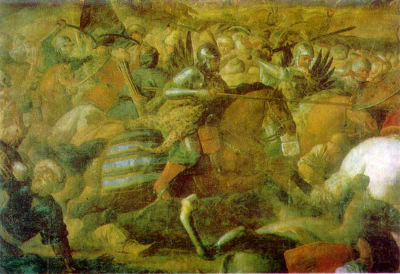 Альтамонте М. Битва під Віднем. Фрагмент