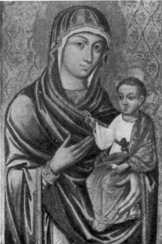 Федір. Богородиця Одигітрія. 1599 р.