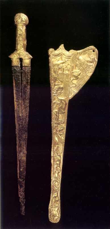 Залізний меч та золоті піхви