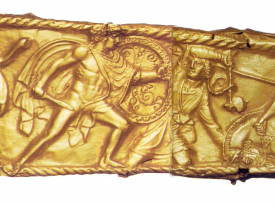 Грек з мечем і щитом та варвар з…