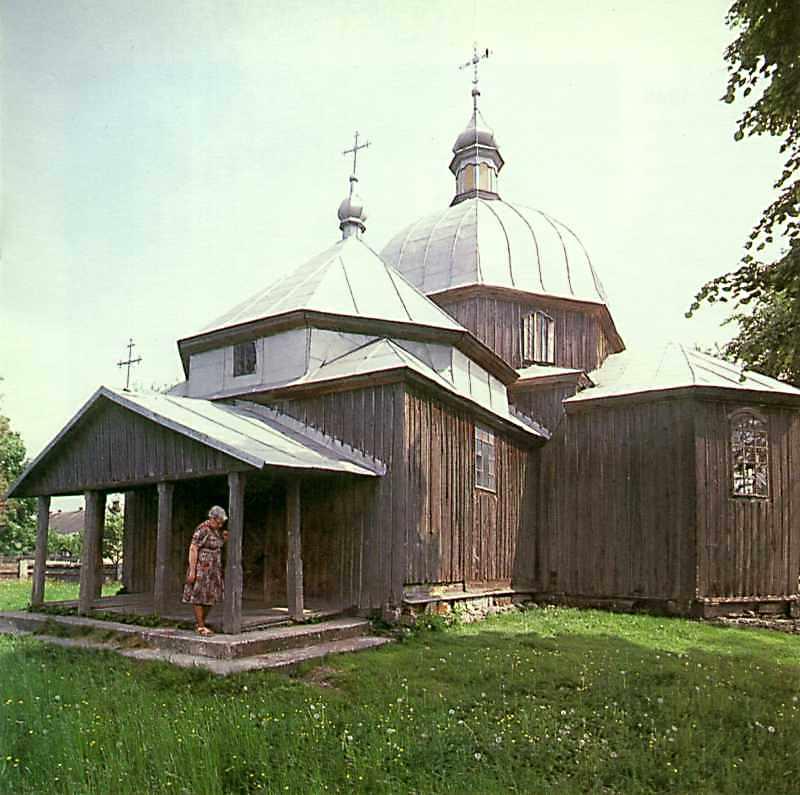 Церква Покладання риз богородиці
