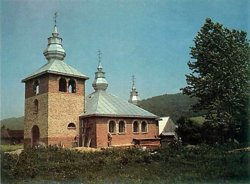 Церква св.Миколи (нова)