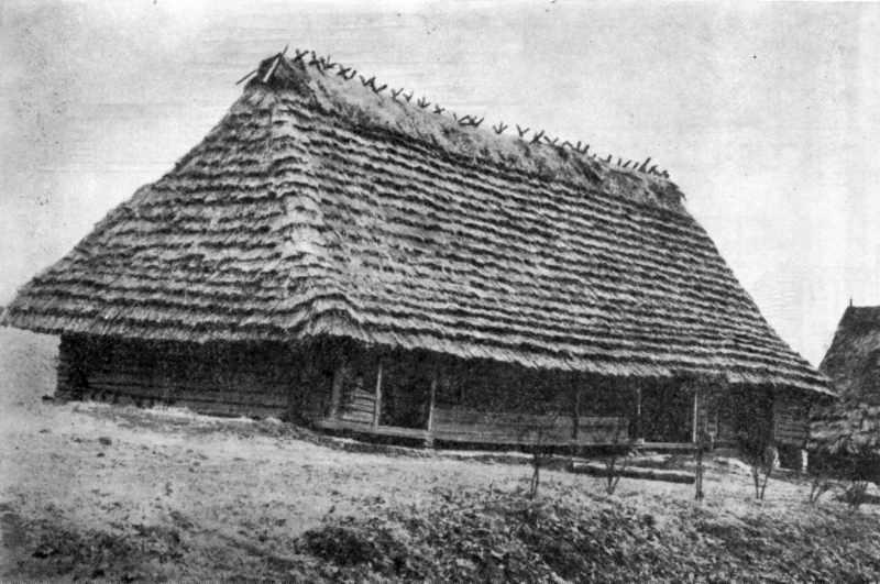 Багатокамерний будинок «довга хата»