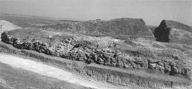 Кам'яна крепіда довжиною 40 м і…