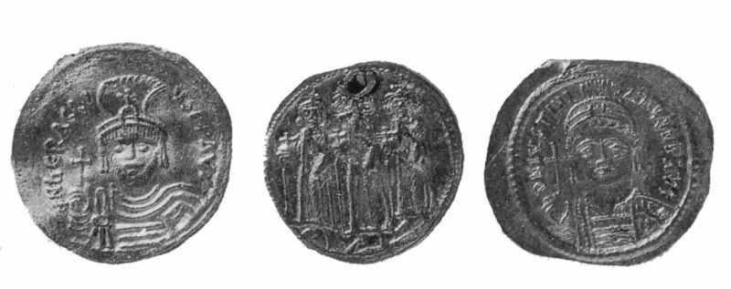 Візантійські монети