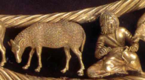 Вівця (4), скіф (5)