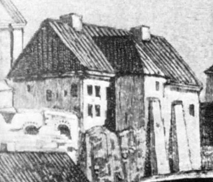 Корпус при кафедральному костелі