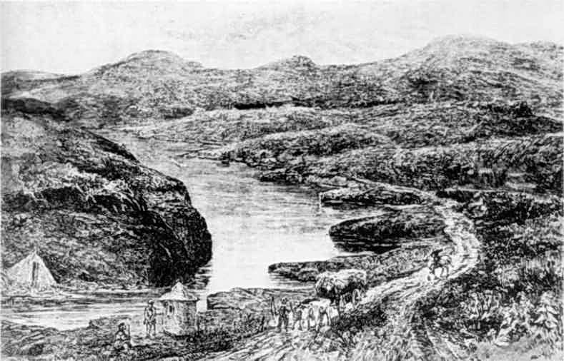 2 пол. 19 ст. Вид річки Ікви