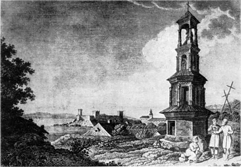 1820 р. Загальний вигляд міста