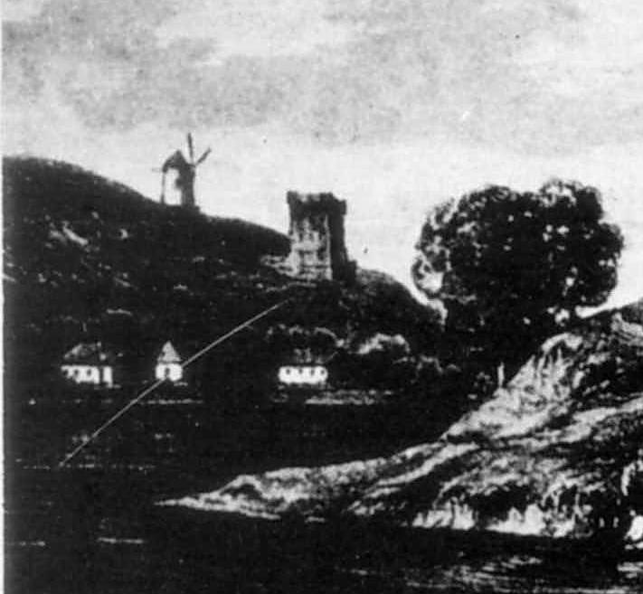 Вітряк і башта