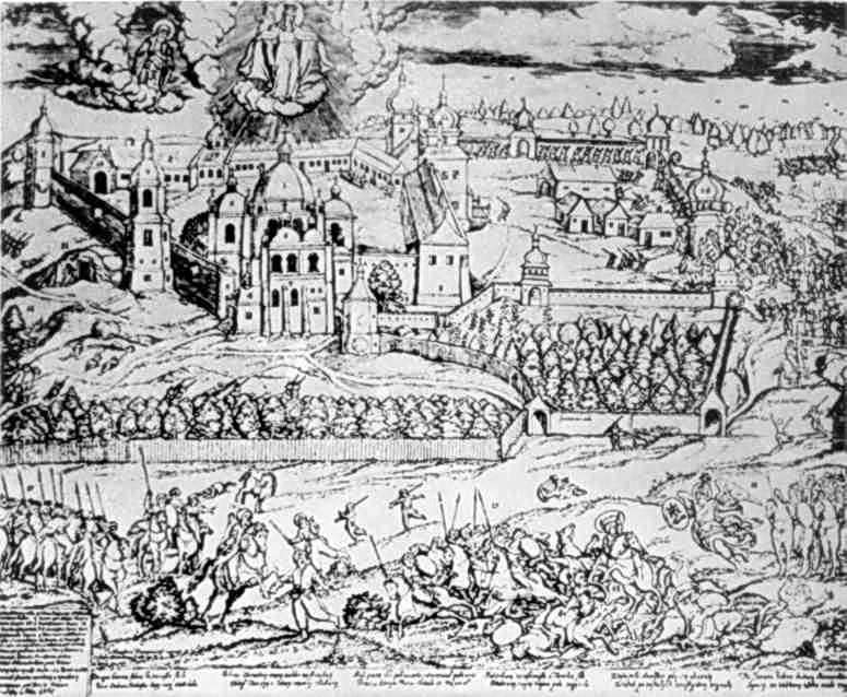 1704 р. Облога Почаївського монастиря