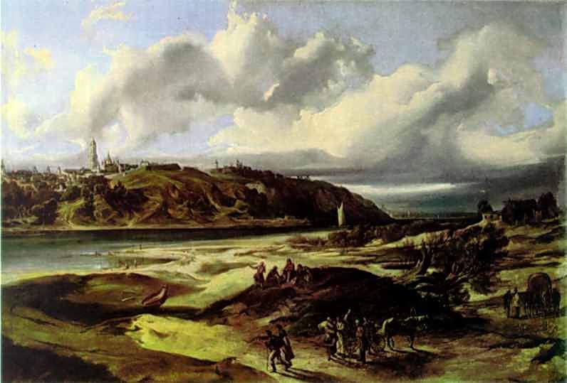 1850 р. Панорама з південного сходу