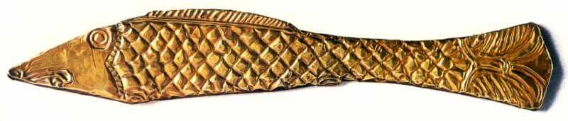 Кінський налобник у формі риби