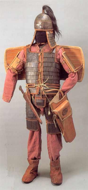 Реконструкція вбрання скіфського вояка
