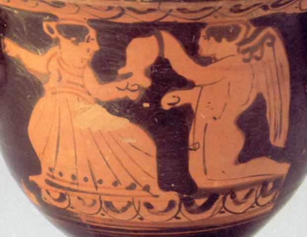 Афродіта і Ерот (?)