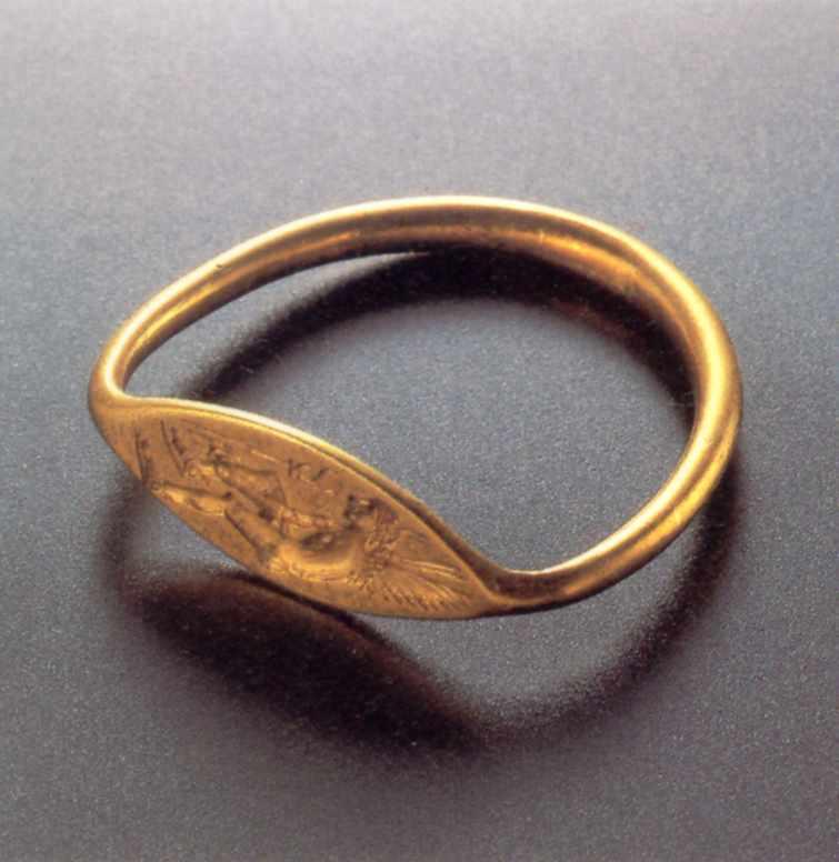 Перстенева печатка із зображенням…