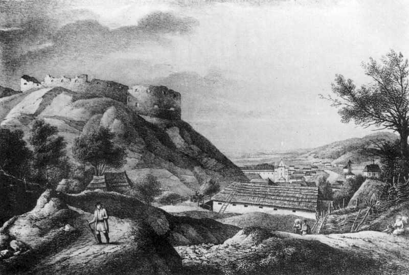1820-і рр. Панорама міста