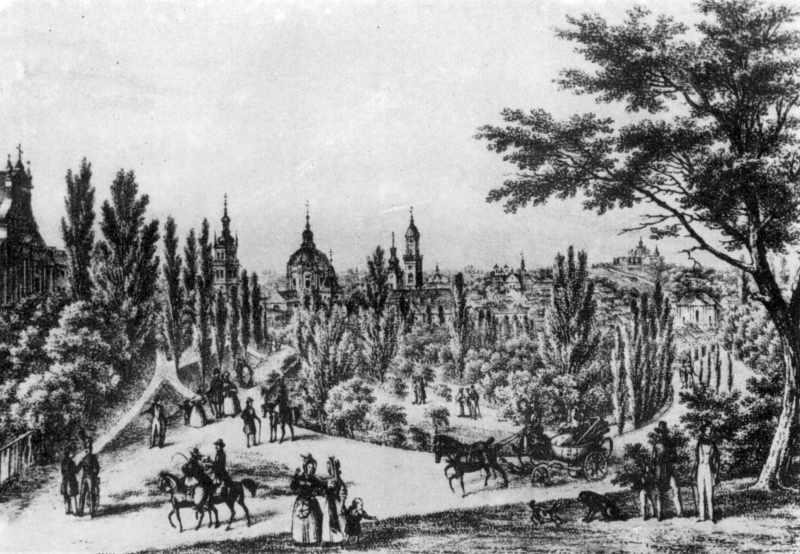 1848 р. Вид Львова з півночі
