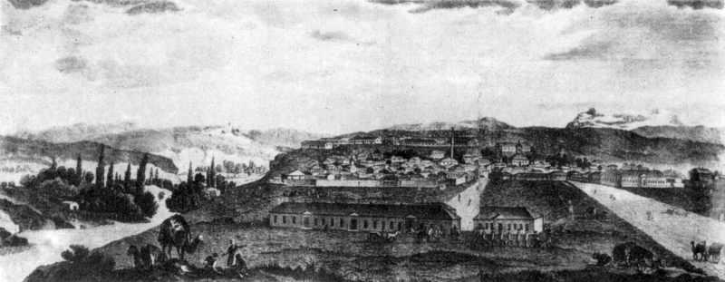 19 ст. Панорама міста