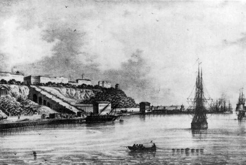 Сер. 19 ст. Вид від Купецької пристані