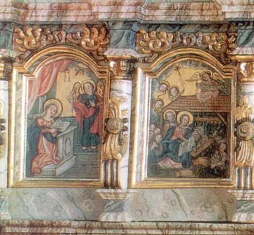 Благовіщення та Різдво Христове
