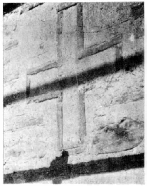 Хрест на сходовій вежі