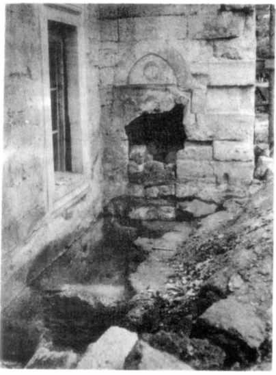 Розкоп біля входу до західного…