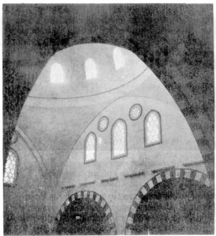 1980 р. Інтер'єр. Фрагмент куполу…