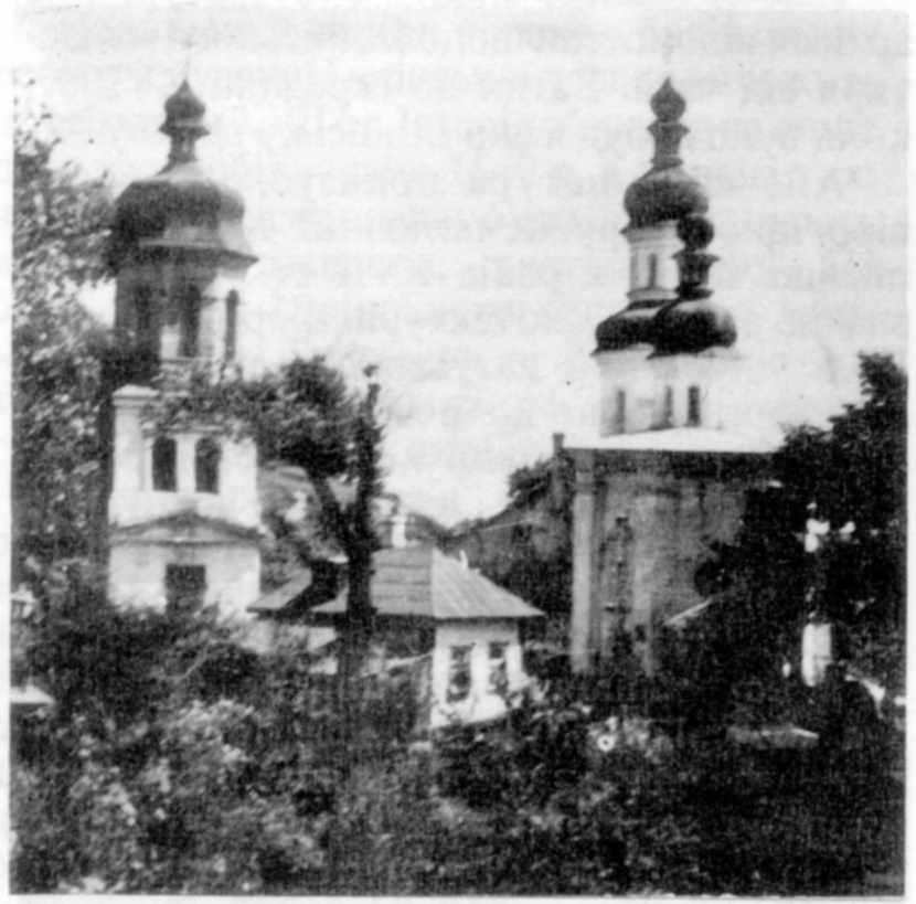Церква і дзвіниця до реставрації