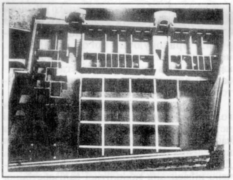 План четвертого поверху. Фото з макету