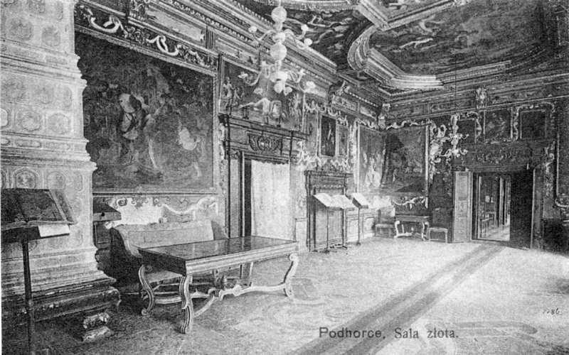1914 р. Інтер'єр Золотого залу