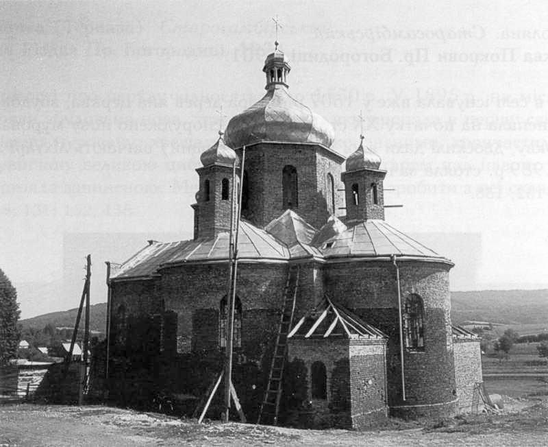 1992 р. Нова церква. Загальний вигляд з позиції А2
