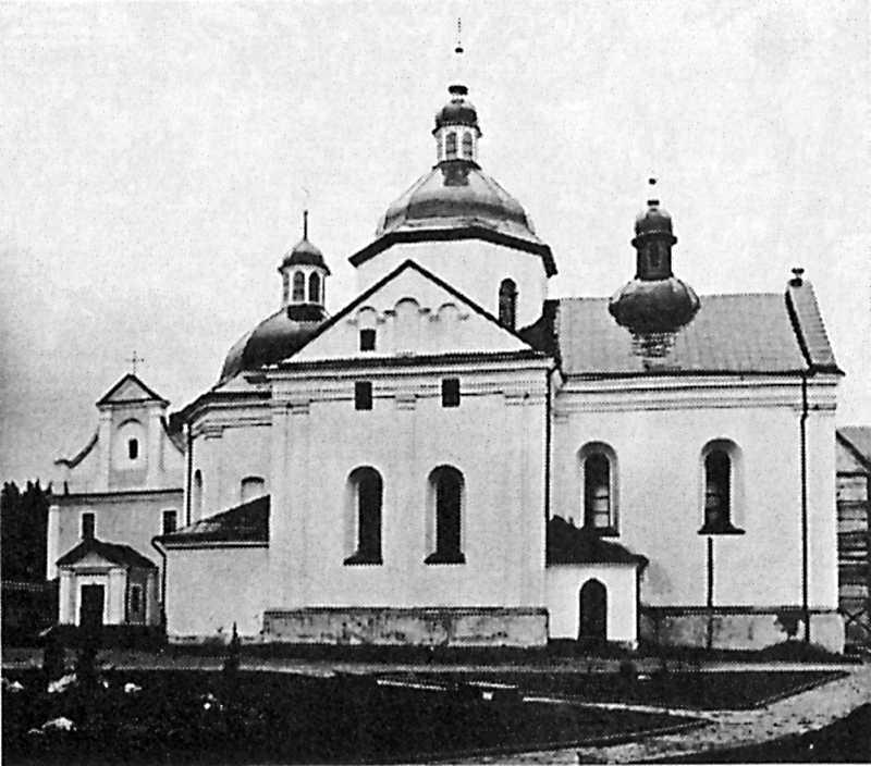 1998 р. Загальний вигляд церкви св.Миколи з позиції С4