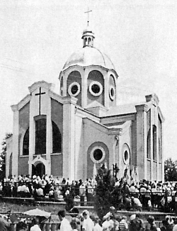 1996 р. Загальний вигляд нової церкви…