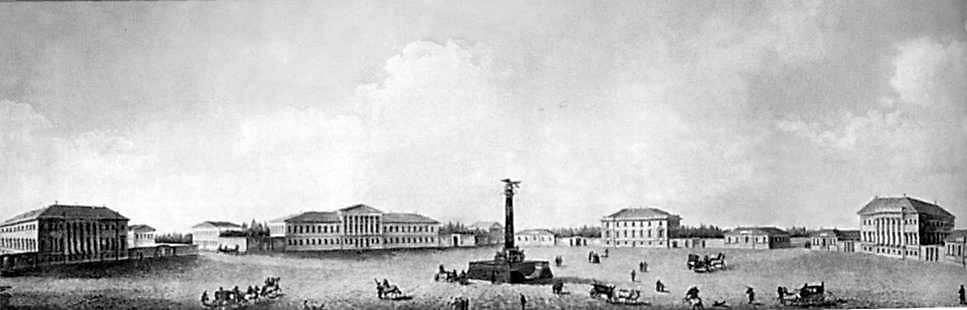 1820-і рр. Загальний вигляд. Літографія