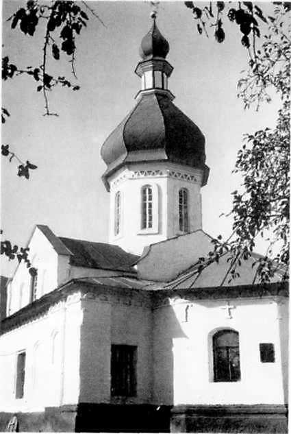 Петропавлівська церква. Загальний вигляд