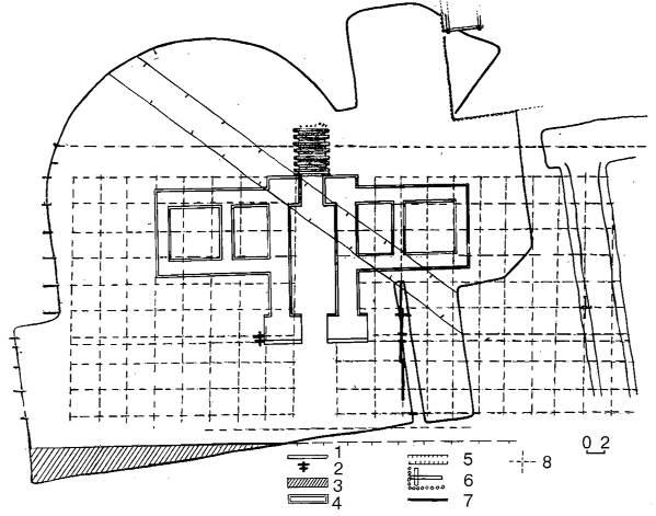 1981 р. План розкопу