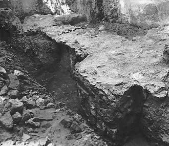 1979 р. Фундамент південної галереї