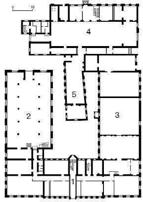 1990 р. План першого поверху